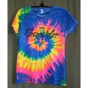 """Skaneateles NY Tie Dyed Tee """"Live, Laugh, Love"""""""
